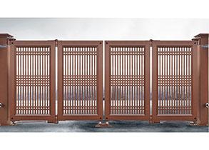 智能懸折門938-C7(紅古銅)